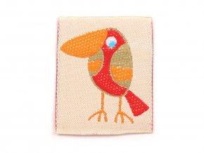 nasivka ptak cerveny