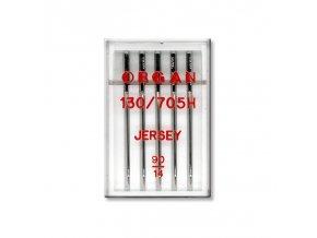 strojove jehly organ jersey 130705h 90 5ksplastova krabicka