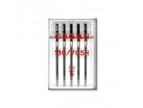 strojove jehly organ universal 130705h 110 5ksplastova krabicka