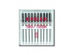 strojove jehly organ universal 130705 h 70 10ksplastova krabicka