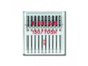 strojove jehly organ universal 130705 h 110 10ksplastova krabicka
