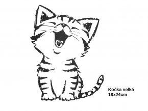 kočka velka černobila míry