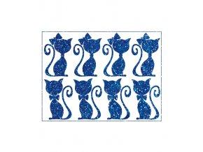 kocici par modrý