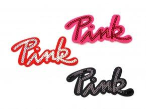 nažehlovačka pink mix