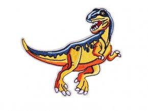 tyranosaurus modrozluty ok
