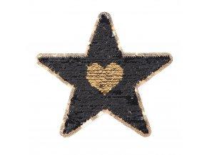 hvezda zlata srdce