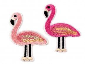 Nažehlovačka Plameňák ružový