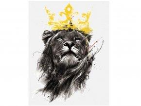 lev s korunou