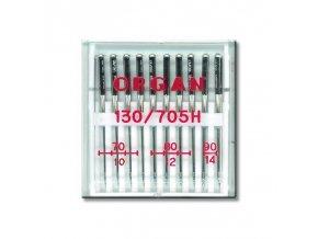 strojove jehly organ universal 130705h asort 10ksplastova krabicka 704 804 902ks
