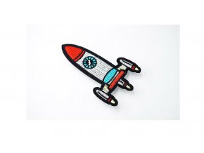 raketa šedomodra větší