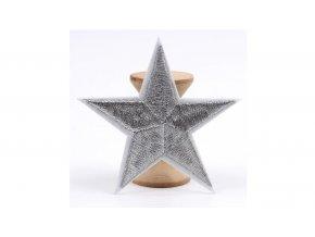 hvězda vysivana stribrna vetsi