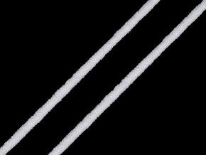 Kulatá pruženka průměr 2 mm, bílá