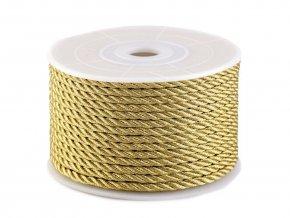 snura kroucena zlata 2.5mm
