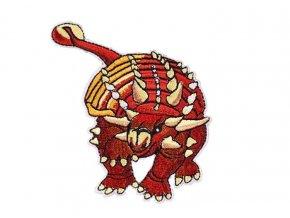 dinosaurus hnědy s ostny