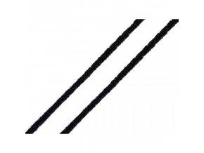 pruženka kulatá roušková černá