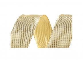 stuha zlata 40 MM 3