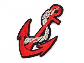 nažehlovačka kotva červená