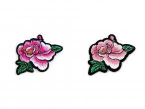 nažehlovačka květ růže mix