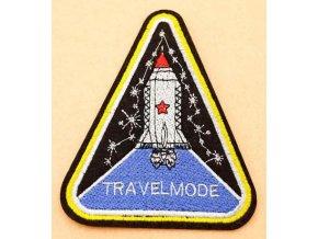 nažehlovačka znak raketa travelmode