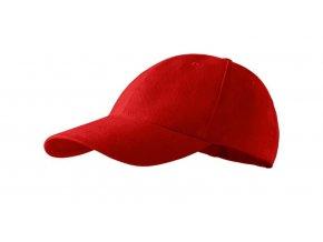 kšiltovka červená