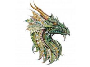 nažehlovací obrázek drak