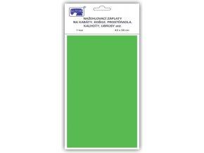 nažehlovací záplaty zelené velka altima