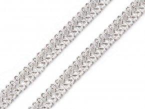 leonský prýmek stříbrný