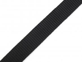 popruh syntetický 15 mm černý