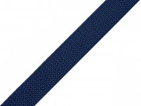 popruh syntetický 15 mm modrý