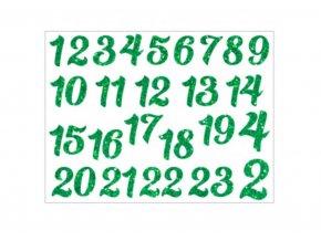 cislice adventni zelene