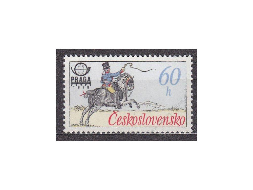 1977, 60h Postilión, DV - uzda, Nr.2253, **