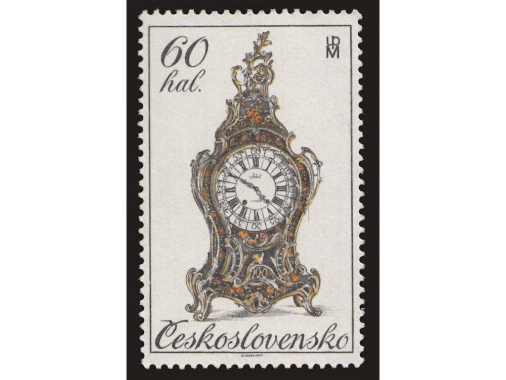 1979, 60h Historické hodiny, DV - pavučiny, Nr.2401DV8/1, **