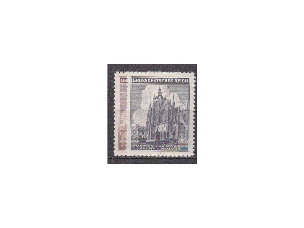 1944, 1.50-2.50K sv.Vít, série, Nr.120-1, **