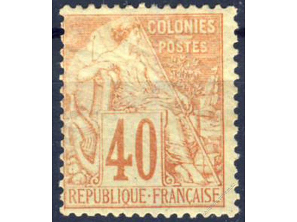 Společné vydání, 1881, 40C Alegorie, těžší *