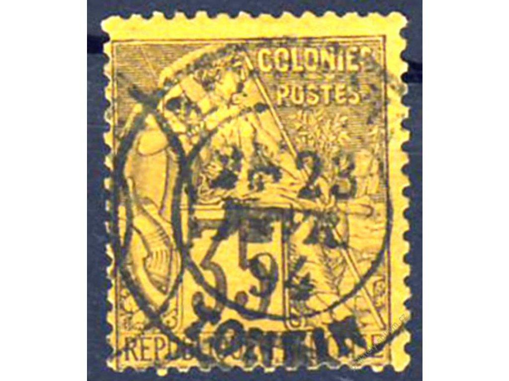 Společné vydání, 1881, 35C Alegorie razítko Tonkin