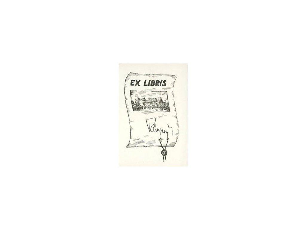 Tampu, Ex libris, malý formát