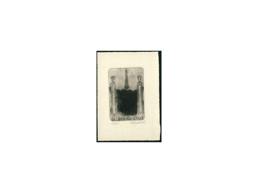 Komárek, 1974, Ex libris