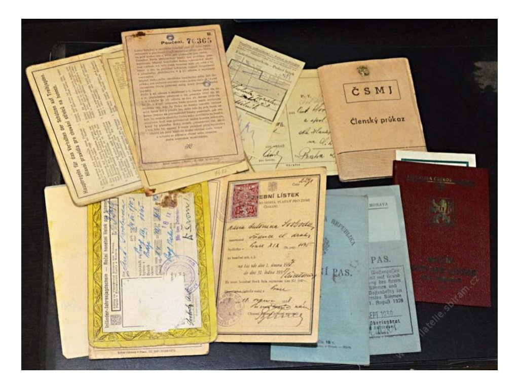 Myslivost, partie honebních lístků, zbrojních pasů