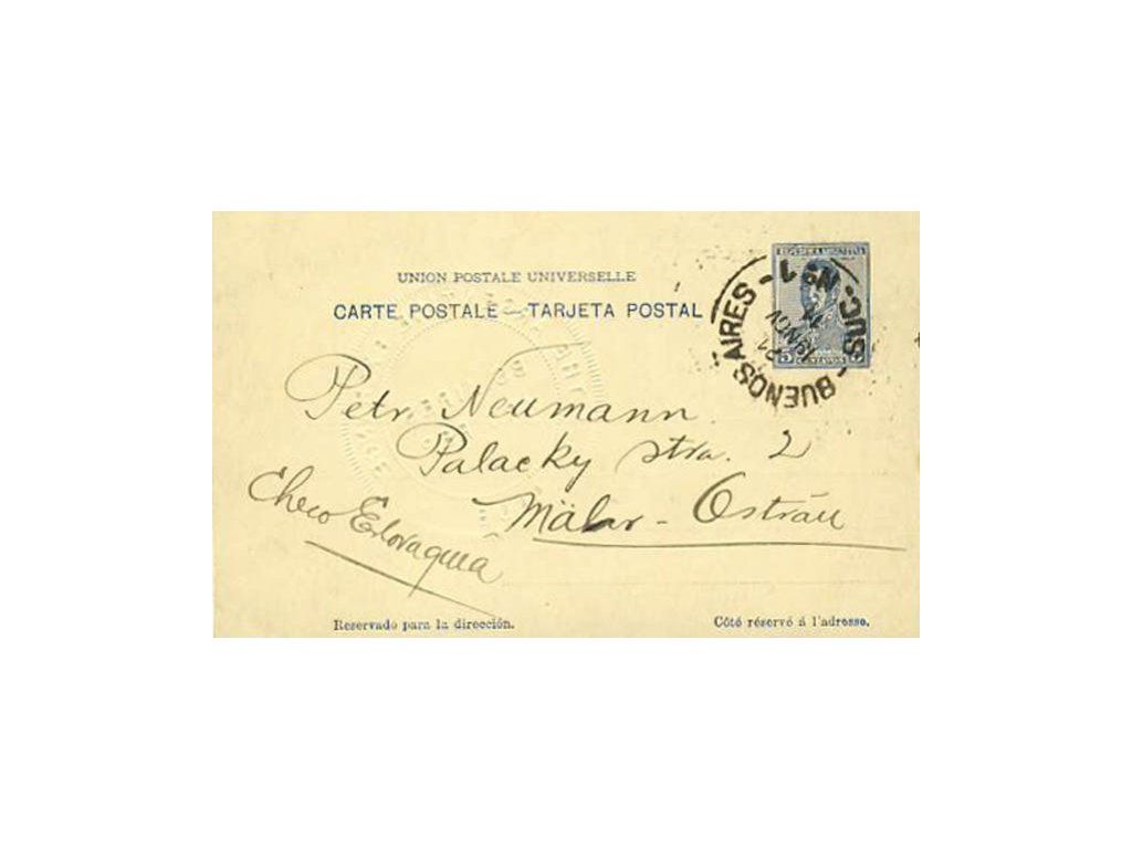 Argentina, 1911, DR Buenos Aires, dopisnice