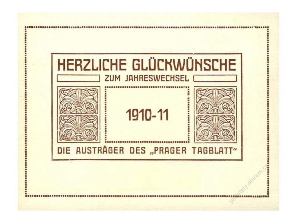 Herzliche Gluckwunsche 1910-11 die austrager des Prager