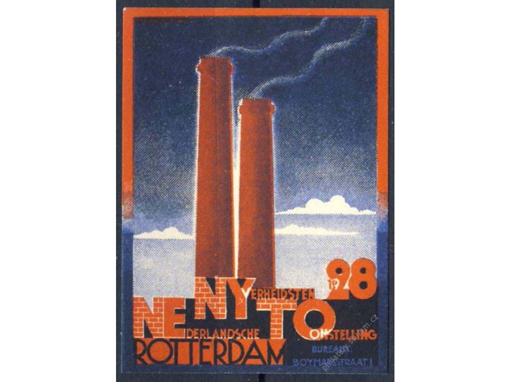Rotterdam Omstelling, 1928, * po nálepce
