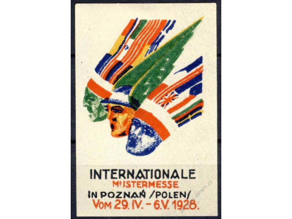 Poznaň, Polen, 1928, Internationale, * po nálepce