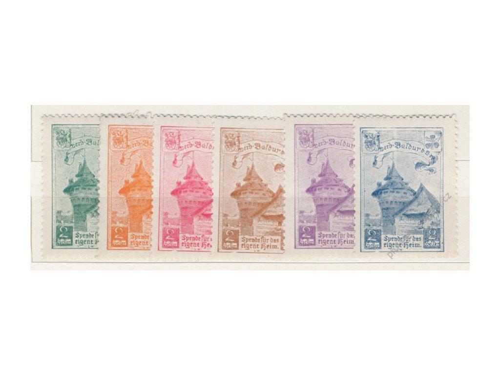Bund Deutschen, Baldur, 2h, 1910, 6 ks, **/*