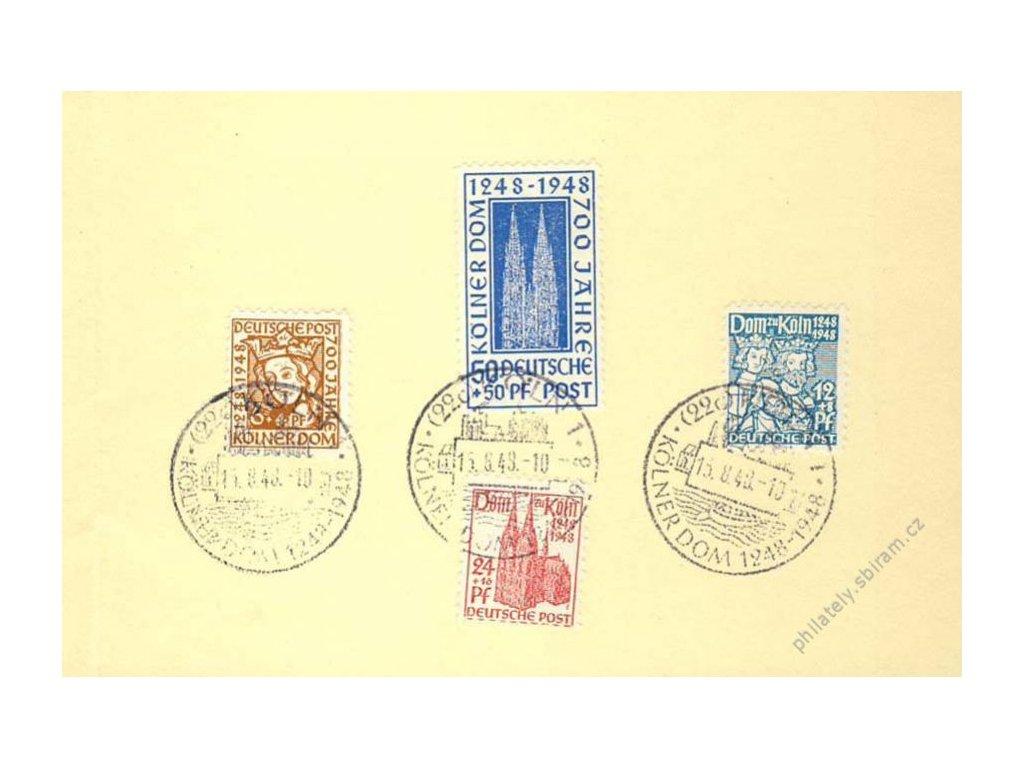 Společné vydání, 1948, 700. let chrámu v Kölnu