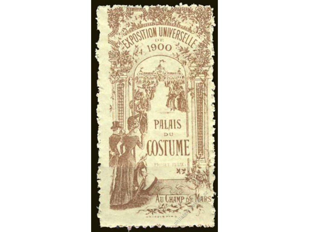 Exposition Universale 1900, Palais du Costume, **