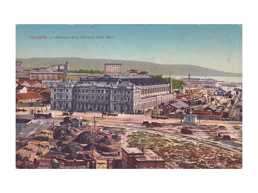 K.u.K. Militar-Arbeiter-Abteilung No. 33./III, pohlednice Trieste