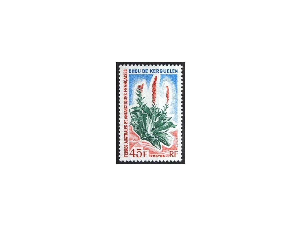 Antarktidské Teritorium, 1972, 45Fr Flora, **