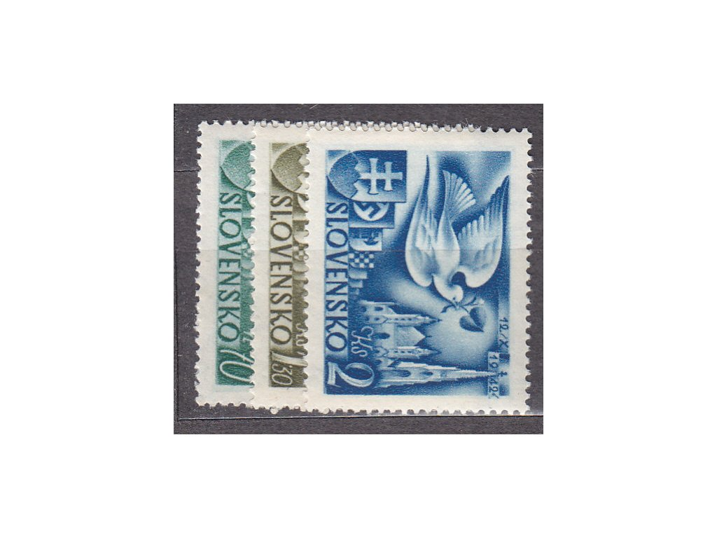 1942, 70h-2Ks Poštovní kongres, série, Nr.72-4, **, ilustrační foto