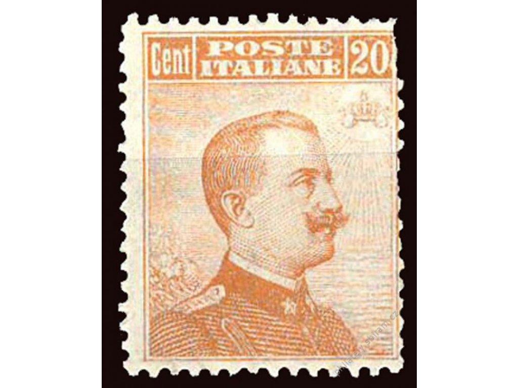 1916, 20C Emanuel, Mi.100Euro, MiNr.125, **