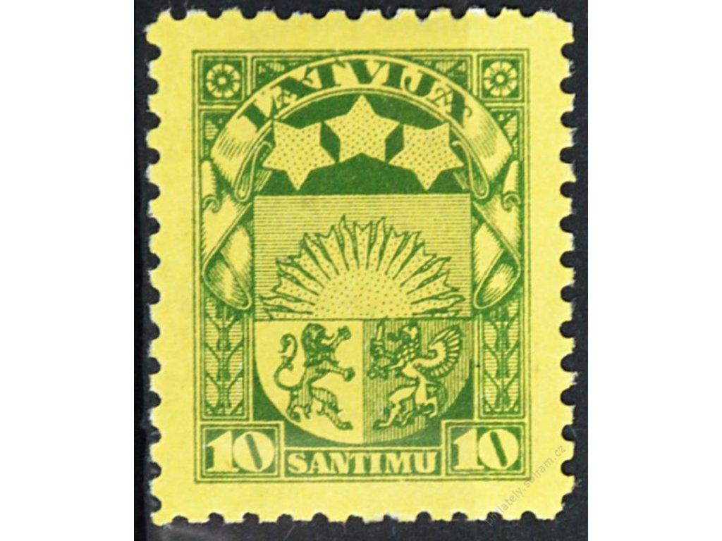 Latvija, 1929, 10S Znak, MiNr.174, **